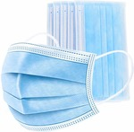 Dr. Morepen Face Mask 3 Ply (Pack of 50) @219