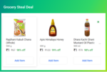 Grocery Steal Deal - 3 Items For Rs.3 In 3 Cities (Delhi,Bangalore,Hyderabad)