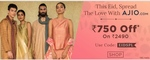 Ajio Eid Special - Rs.750 off on Rs.2490
