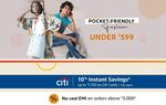 LAST DAY - Pocket Friendly Deals Under Rs. 599