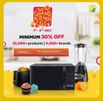 The Grand Kitchen Sale 1st To 6 July +10% Instant Discount With ICICI Cards