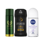 Famous Brands Deo & Fragrances at 50 %off