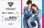 Ajio SuperBrands Sale Upto 60% off + Extra 15% Off On men's And Women's Clothing And Accesories