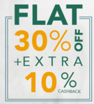Flat 30% off & 10% cashback on Mom's Co products (9am - 9pm only)