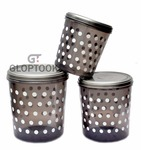 GT Gloptook Safe Plastic Medium Container, 3 PC (Capacity - 5ltrs, 7ltrs & 10ltrs) Multy Colors