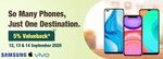 Croma Smartphones Valueback Offers - Get 5% Value on the purchase of Smartphones
