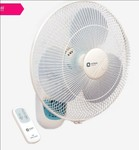 Orient Wall 49 400 mm 3 Blades Wall Fan with Remote Control (Crystal White)