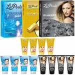 LaPerla Gold, Diamond And Pearl Facial Kit 80g Each Set of 3 GC580-By Adbeni