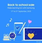 Samsung Back to School Sale(17- 21Sep) + ICICI Bank Offer