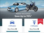 vehicle insurance for 4 wheeler and 2 wheeler save up to 70% off