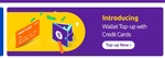 Introduce Phonepe - Wallet Topups with Credit Card