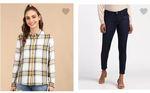 Prebook - Lee Women Clothing 86% Off @ 195