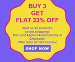 Pee Safe : Buy 3 Get FLAT 33% On All Products