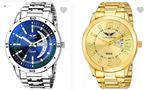 Prebook Big Deal – Lois Caron Wrist Watches Up to 92% OFF At Rs.139