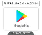 Woohoo: Get Flat 200 Cashback on Purchase of Google Pay Giftcode of Rs 10