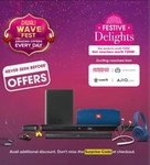 Jbl Diwali Wave fest --(Festive Delights Buy products worth RS 2999 & Get Voucher worth Rs 2599 )