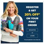 Register & Get Flat 20% Off on Your 1 Order