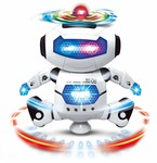 @449 Dancing 3D Robot with Lights and Music