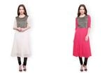 Pannkh Anarkali Kurtas 86% Off at Rs.391.Free Shipping For New Users.