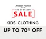 Amazon End of season sale | Kids clothing Upto 70% off
