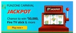 Amazon Funzone Carnival Jackpot | Play and Win Rs. 50000, Fire Stick & More