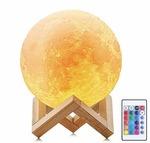 XERGY 1W LED 3D Print Lamp, Multicolour, Full Moon @ 1099/-