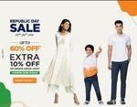 Pantaloons Republic Day Sale Upto 60% off + 10% extra off