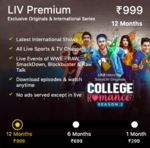 10% off on SonyLiv Premium Memberships