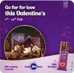 Jio engage Cadbury answer and get a chance to win 1gb data