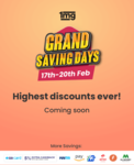 1mg Grand Saving Days- Highest discounts ever (Flat 25% + 7% extra for care members)