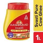 1kg Aashirvaad swasti cow our ghee