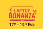 Flipkart Laptop Bonanza 17-19 Feb : Upto 30% OFF + Rs.1000 on Prepaid Transactions