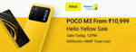 POCO M3 From Rs.10999 Hello Yellow Sale Live at 12 PM