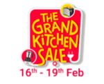 Take a small survey & get  extra 5 % off in Grand Kitchen sale