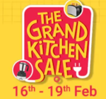 Answer & Win Extra  up  to 20  % discount in Grand Kitchen Sale