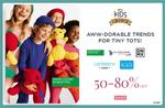 Ajio Kids Carnival 50-80% Off
