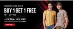 Max Fashion : Buy 1 Get 1 Free (Till 23rd Feb)