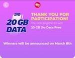 Jio Lucky Draw Enter & Win 20GB jio Data + Spin2Win Wheel of Fortune & Reward | Only In My Jio App