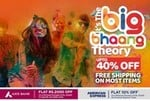 PepperFry The Big Bhaang Theory Sale Upto 60% Off + Flat 2000 Off with AXIS & 10% off with AMEX