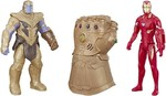 MARVEL Iron Man, Thanos and Infinity Gauntlet Titan Hero Series  (Multicolor)