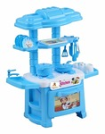 Toys Treasure 32Pcs Toy Kitchen Role Play Set Multicolour for Boys/Girls/Kids