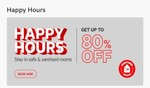 Oyo Rooms Happy Hours : Get Upto 80% Discount On Room Booking