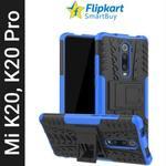 Flipkart SmartBuy Back Cover for Mi K20, Mi K20 Pro  (Blue, Black, Flexible)