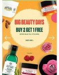 The Body Shop - Big Beauty Days Buy 2 Get 1 Free + Flat 50% Off On Selected Products | Till 17 April