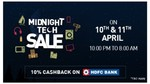 Reliance Digital Midnight Tech Sale | 10-11th April , 10:00 PM - 8:00 AM + 10% Cashback On HDFC BANK