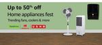 Up to 50% off on Home Appliances Fest
