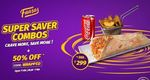 Get 50% Off Upto Rs.100 on minimum order of Rs.199.