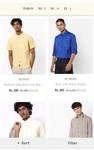 ajio get 5 shirts of ₹ 343 each @ ₹ 209 each (including delivery)