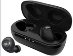 JBL C100TWS True Wireless in-Ear Headphones with Stereo Calling, Bluetooth 5.0 and Up to 17 Hours Combined Playtime (Black)