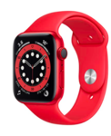 New Apple Watch Series 6 (GPS + Cellular, 44mm) Aluminium Case with Product(RED) - Sport Band [ HDFC Offer ]
